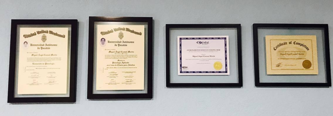 psicomerida certificados psicologo miguel caamal