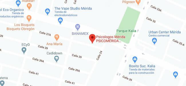 psicologos en merida ubicacion clinica
