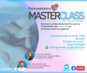 Masterclass gratis piscologia
